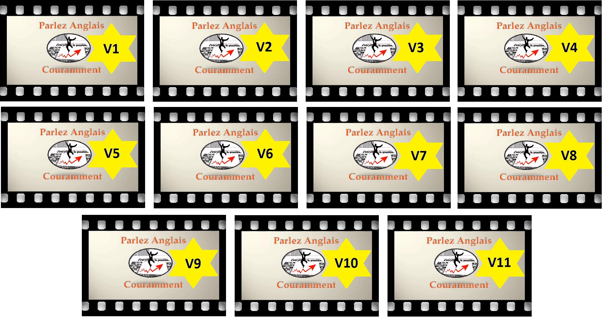 Vidéos transition phase